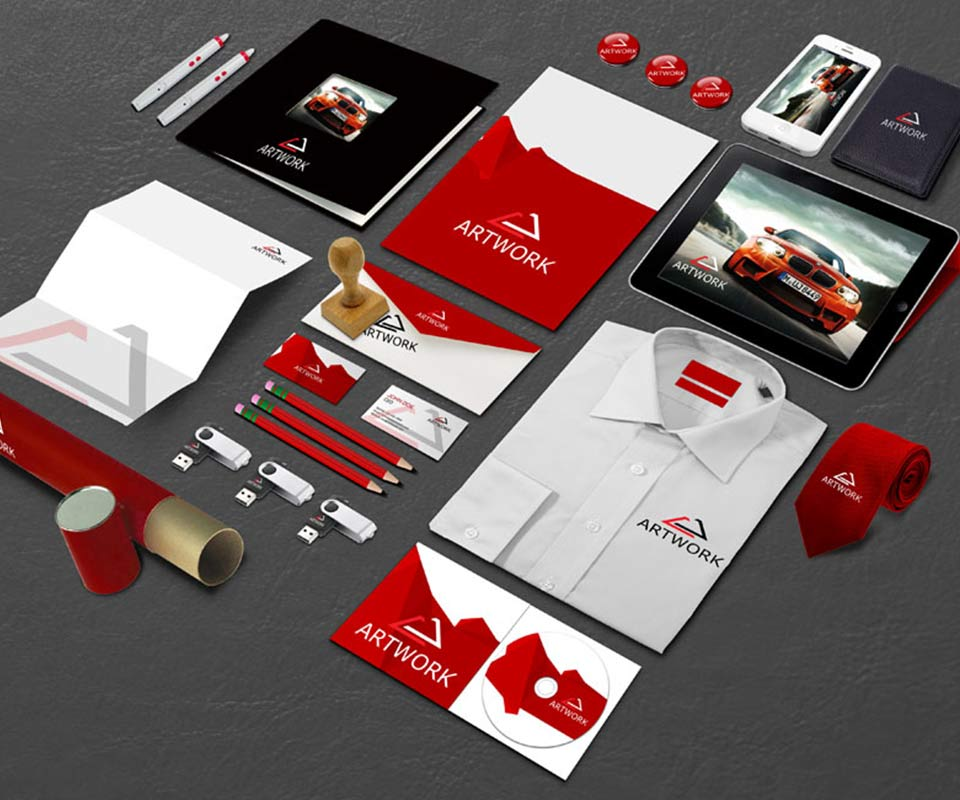 Stationery and Corporate Branding