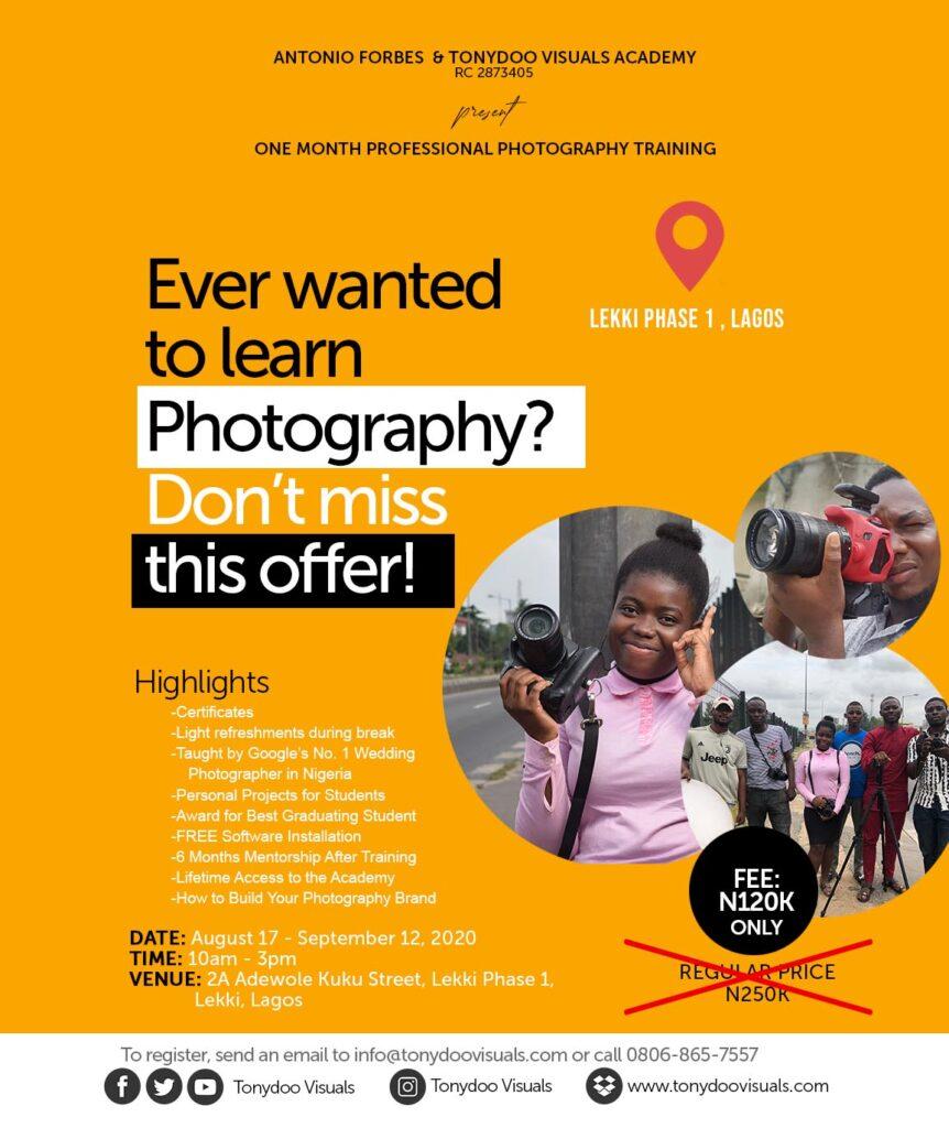 tony doo visuals photography school