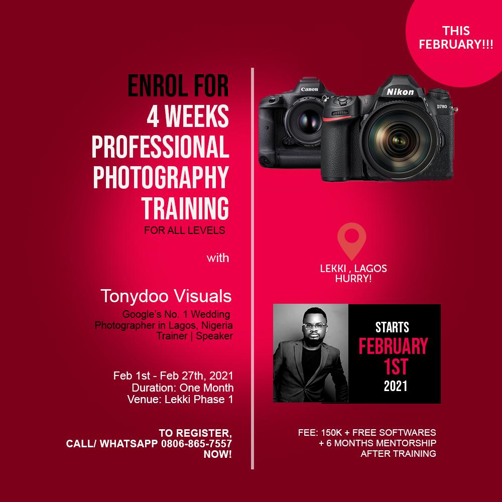Photography School in Lagos