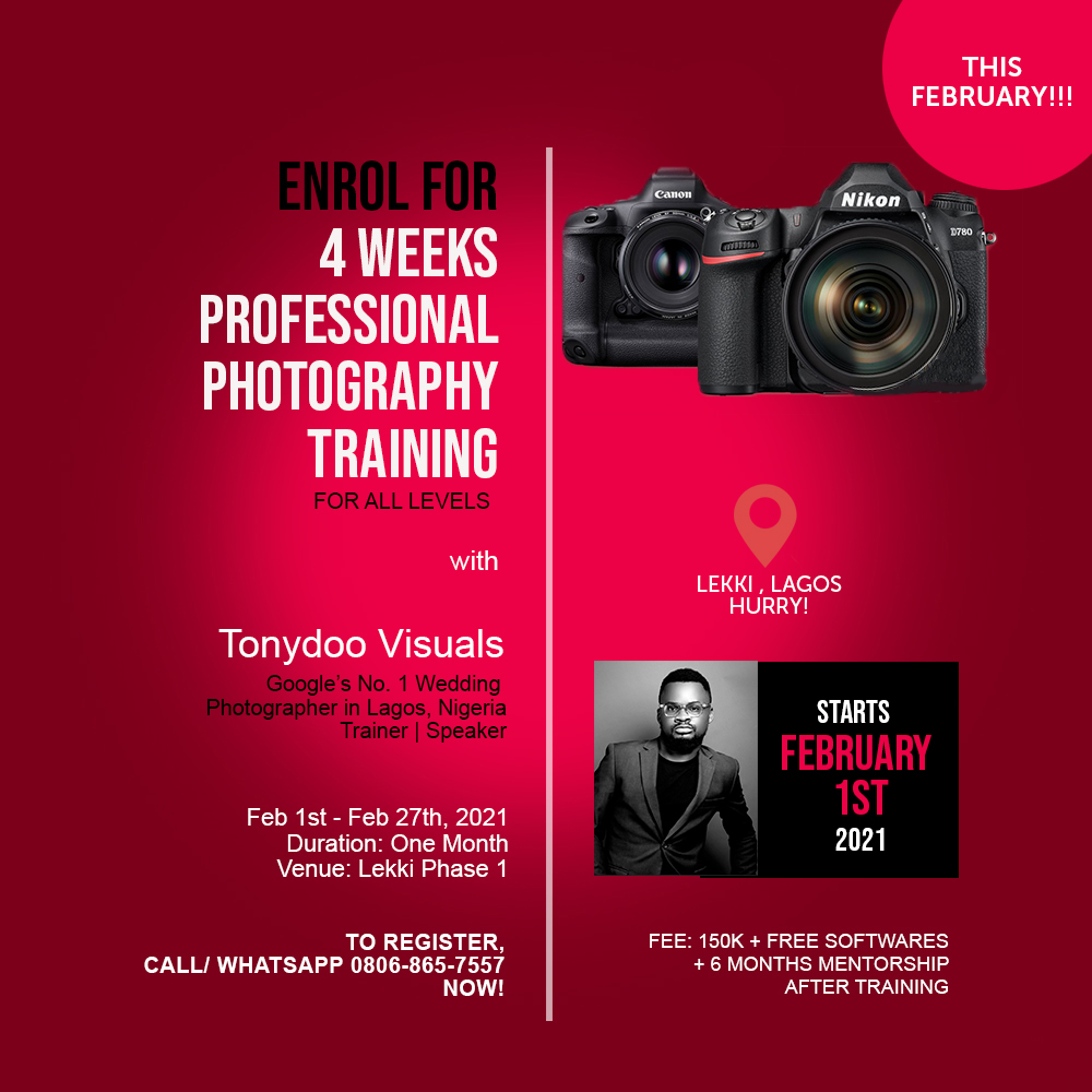 Photography School in Lagos
