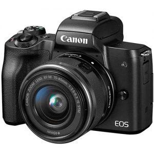 Canon-EOS-M50-Mirrorless-Digital-Camera-with-15-45mm-Lens-Black-in-Nigeria
